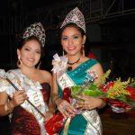 Las reinas de los festejos del municipio de El Carmen, La Unión. Foto EDH/ Insy Mendoza