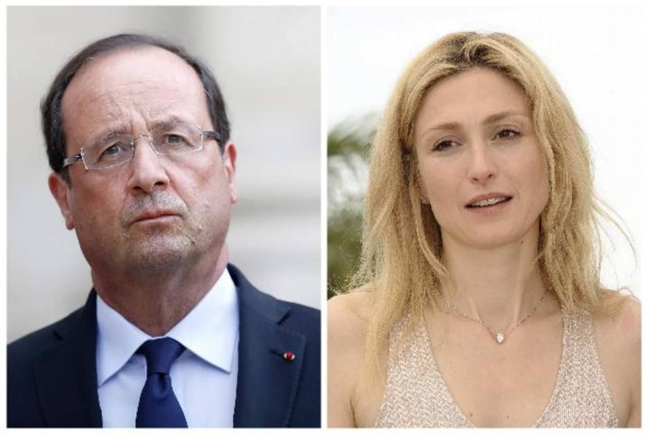 Francois Hollande y Julie Gayet, quien se casó en 2003 pero actualmente está separada de su pareja. foto edh / EFE