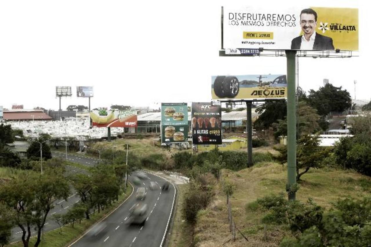 Los costarricenses elegirán presidente y 57 diputados del Congreso para el período 2014-2018. Foto edh / EFE