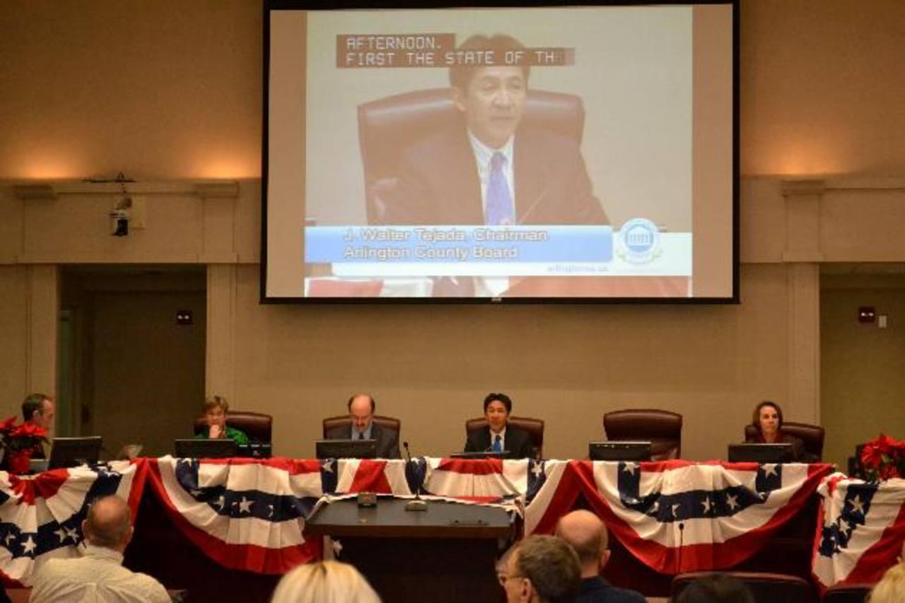 Walter Tejada culminó presidencia en condado de Arlington