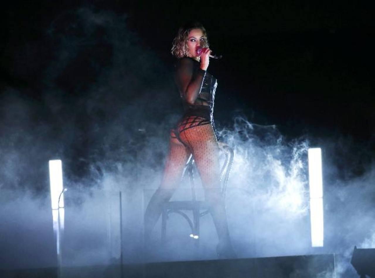 Beyoncé dejo a todos boquiabiertos con su presentación en los Grammy 2014. Foto/ Reuters