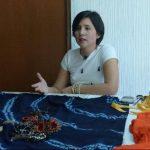 La diseñadora Sara Hernández presentará hoy su colección con elementos artesanales. foto René Estrada