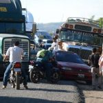 Las fallas del nuevo sistema han motivado la protesta de los traileros en territorio chapín.