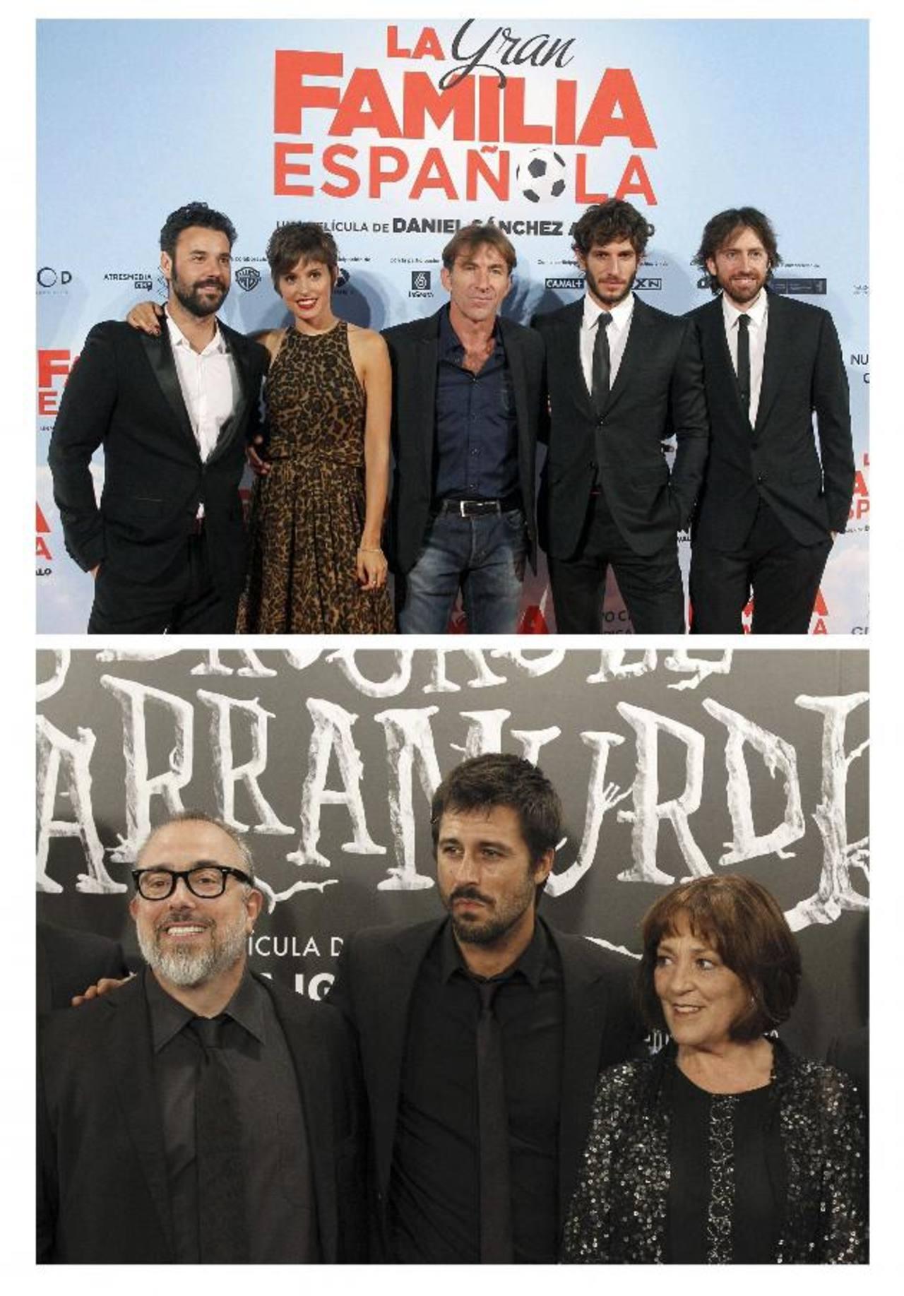La gran familia española, de Daniel Sánchez Arévalo (d), la favorita para los galardones que se entregarán el 9 de febrero.