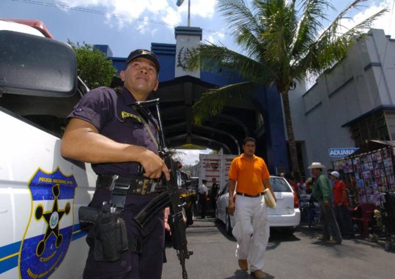 La UE confirmó su compromiso de continuar apoyando la estrategia de seguridad en la región centroamericana. foto edh / archivo