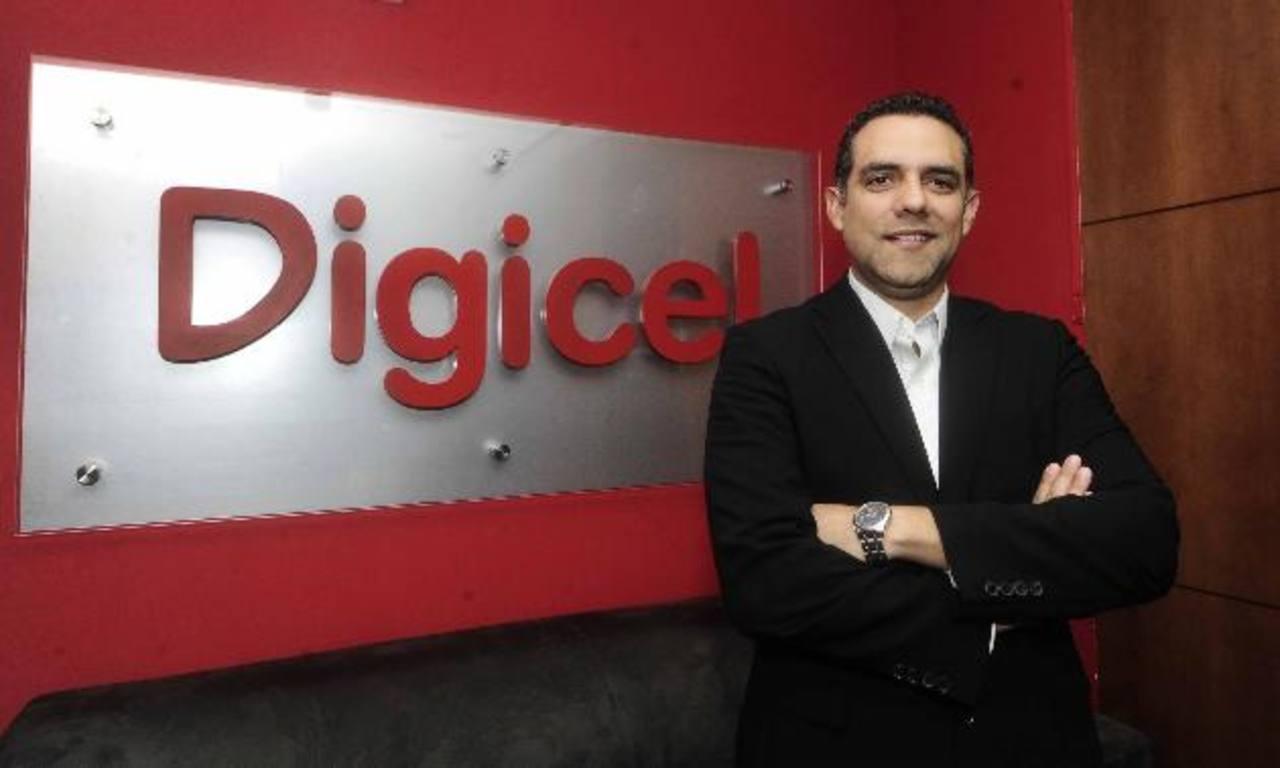 Francisco Alemán, el nuevo CEO de Digicel, se estrena en su cargo tras su paso en la competencia y con experiencia en marketing en aerolíneas y sector bancario. foto René Quintanilla