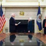 Janet Yellen jura el cargo de presidenta de la Reserva Federal de EEUU. Foto AFP