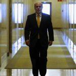 Ben Bernanke salió de su despacho ayer lunes, por última vez, para irse al centro Brookings Institution.