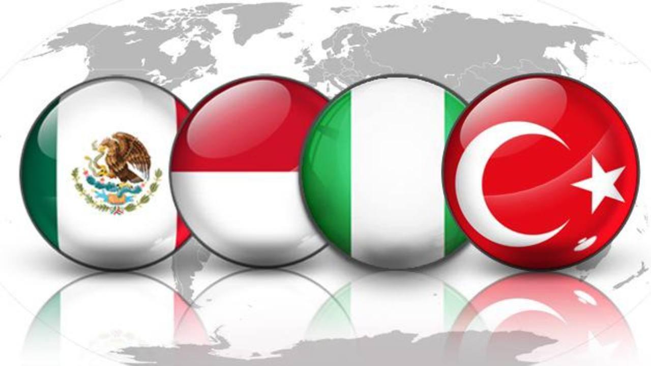 México, Indonesia, Nigeria y Turquía han pasado a ser parte de las potenciales nuevas economías emergentes.