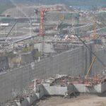 Así lucían los trabajos de ampliación del Canal de Panamá en Gatún, el pasado 21 de enero.