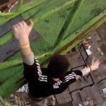 Video: Arriesgan la vida para compartirlo en redes sociales