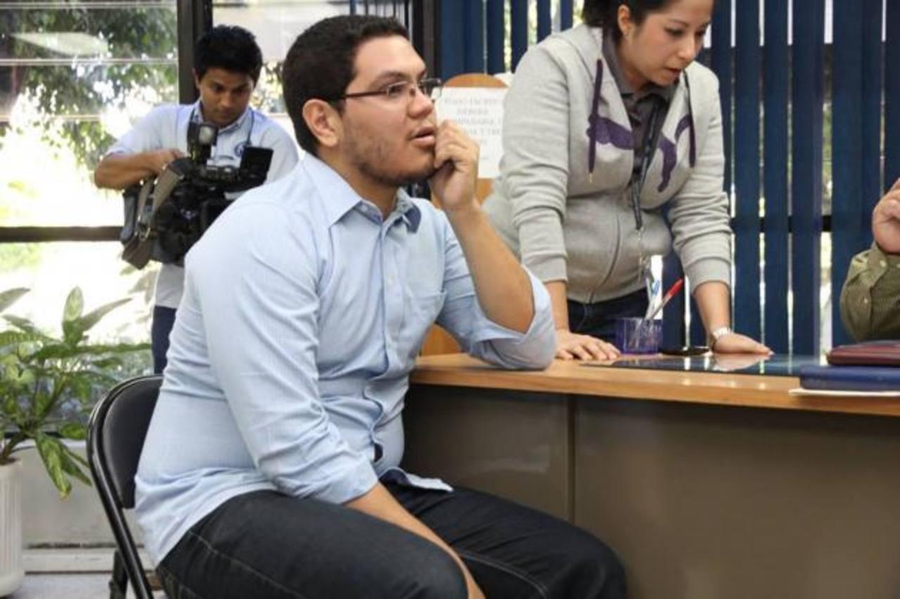 Mario Alexander Flores Bermúdez es acusado de homicidio culposo en perjuicio de tres integrantes de la familia Montano Guandique y de conducir de forma temeraria. Foto EDH / Cortesía Tribunales