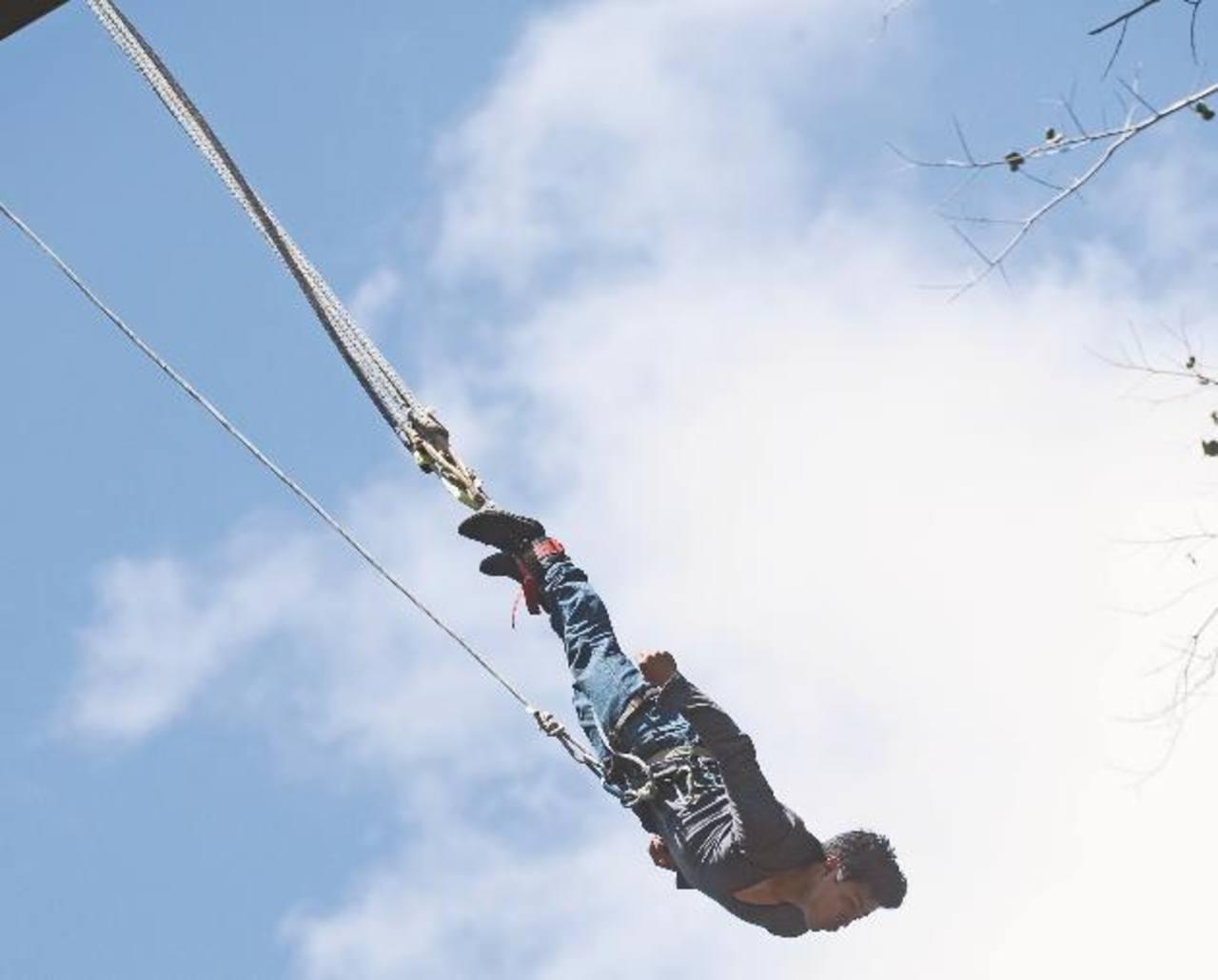 Un salto con adrenalina extrema