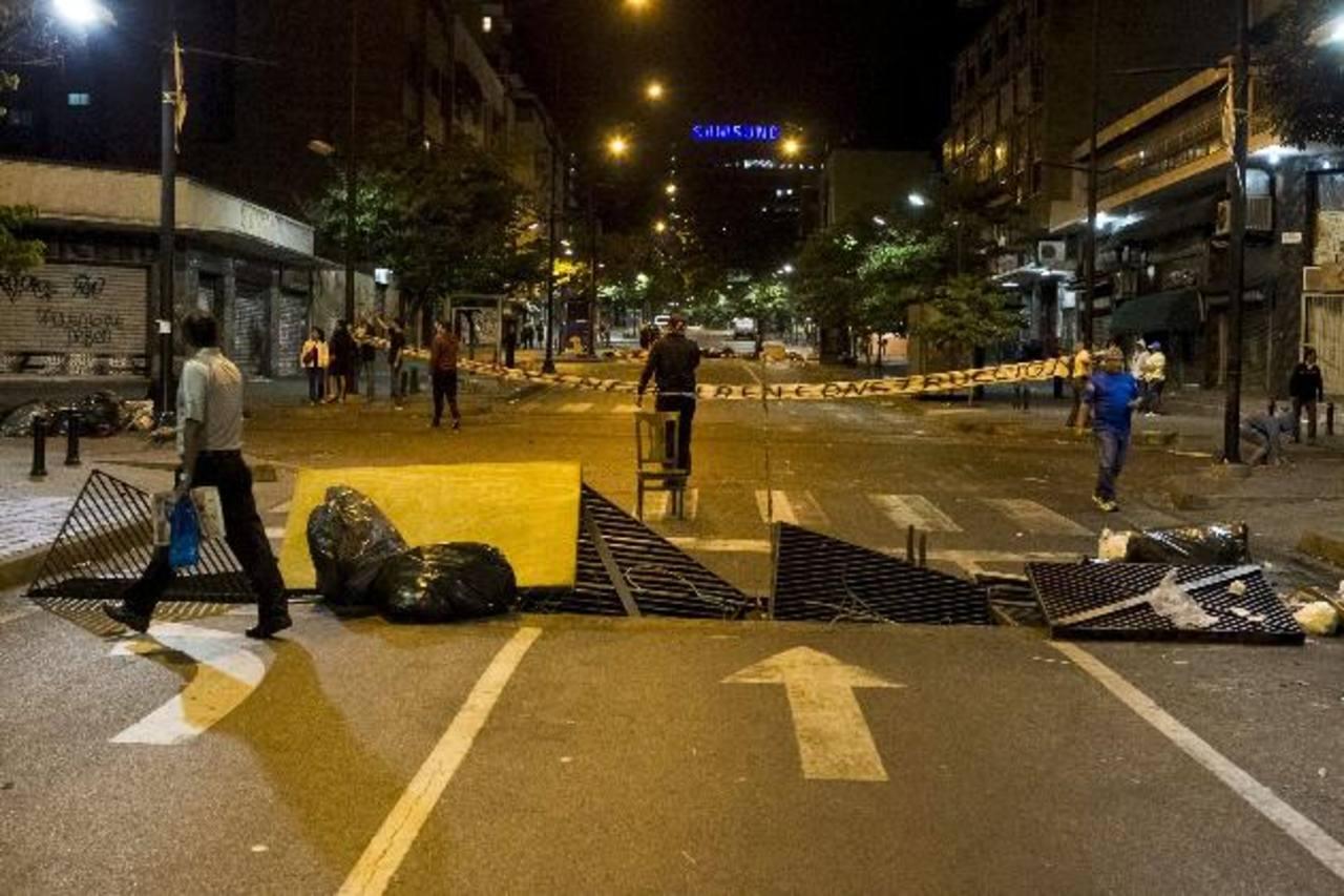Venezuela sumida en el caos. FOTO EDH Agencias.