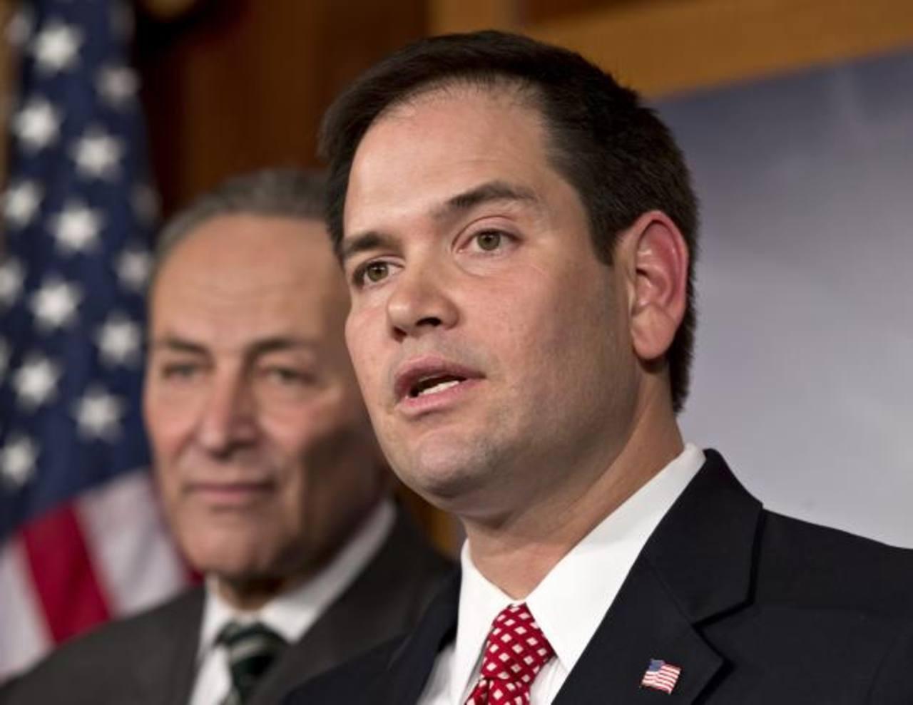 El senador republicano, Marco Rubio, critica con dureza lo que pasa en Venezuela. Foto EDH /archivo