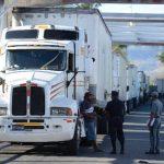 El cobro en las aduanas se hace al transporte de carga en tránsito, de importación y exportación. FOTO EDH Archivo.