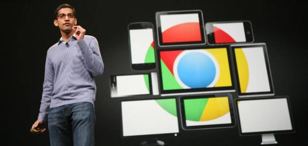 Pichai destacó en el Congreso de Móviles de Barcelona la alianza de Google con Nokia y otros fabricantes. Foto EDH