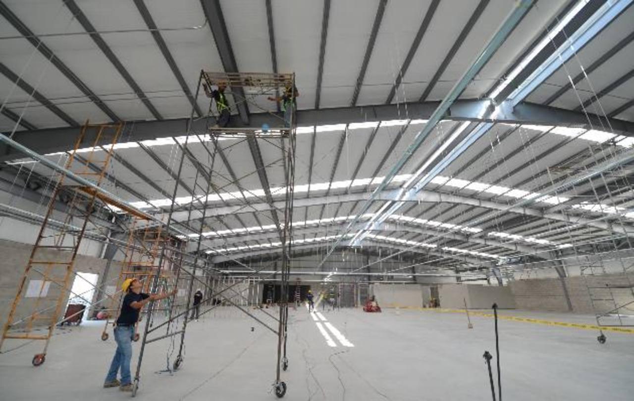 La obra está avanzada en 75 %, aún faltan detalles de acabado, pintura e instalación eléctrica. foto edh / mauricio cáceres