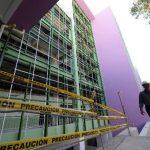 Trece días antes de las elecciones del 2 de febrero, el Presidente de la República hizo un recorrido por uno de los edificios del nuevo hospital de Maternidad.