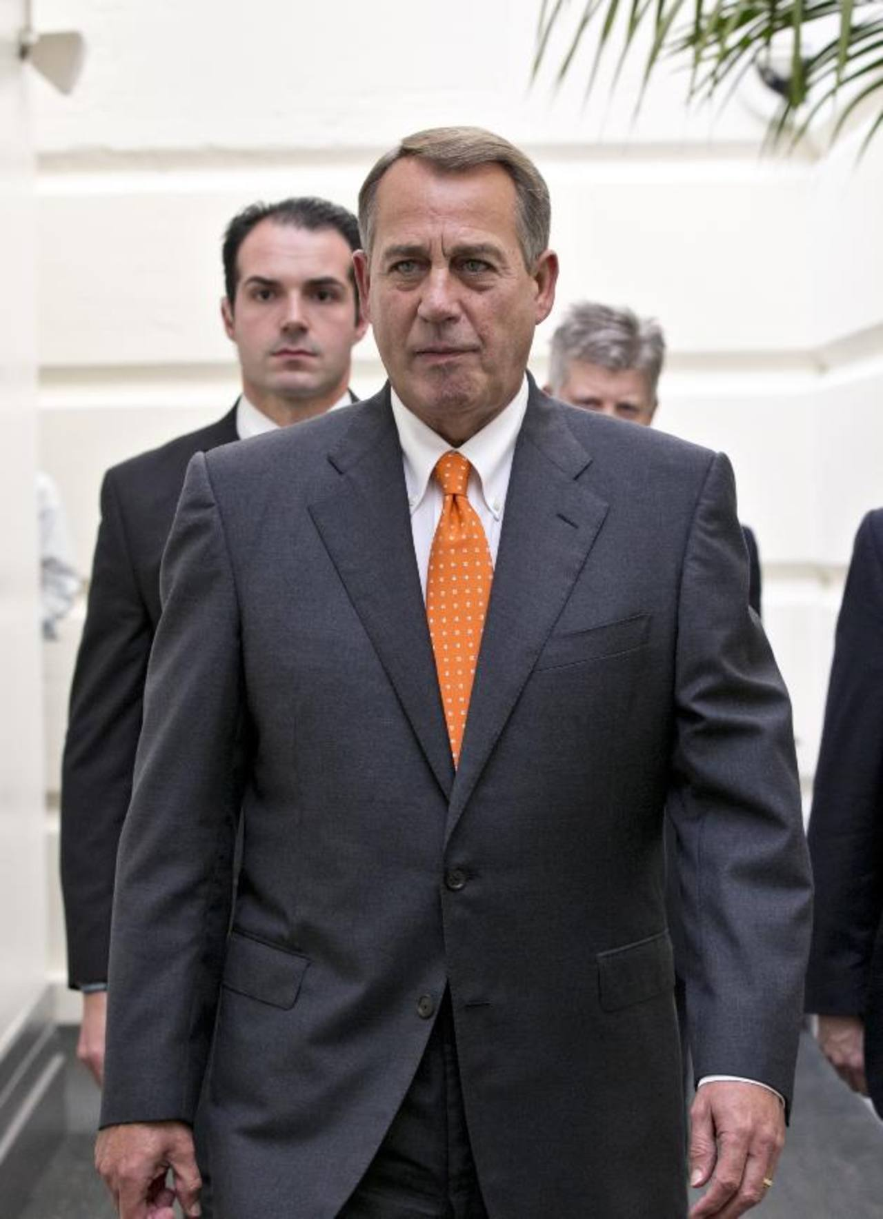 John Boehner, presidente de la Cámara de Representantes de Estados Unidos.