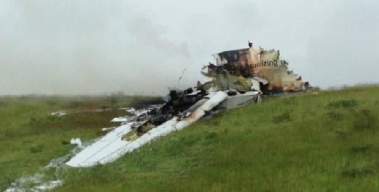 102 muertos al caer avión militar argelino