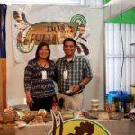 Al menos 10 Pymes participan en la Expo Walmart 2014 en Guatemala. Foto vía Twitter Magdalena Reyes