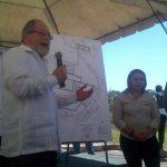 El ministro de Seguridad Ricardo Perdomo en la inauguración de granjas en penal de menores en Ilobasco. Foto EDH / Cortesía