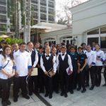 Los jóvenes participantes de los diplomados. foto edh / cortesía