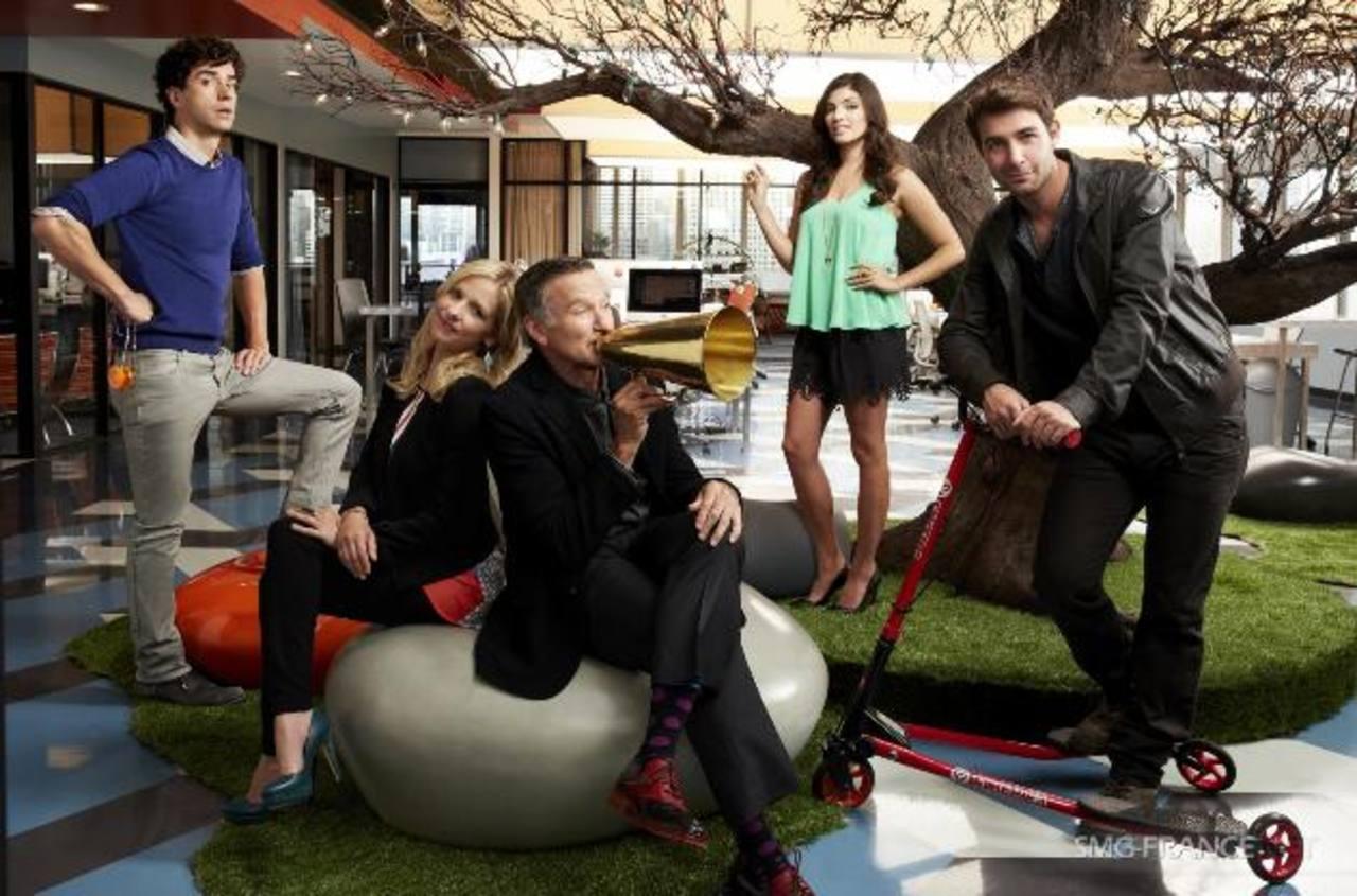 The Crazy Ones es una comedia que se desarrolla en una publicidad dirigida por el excéntrico Simon Roberts.