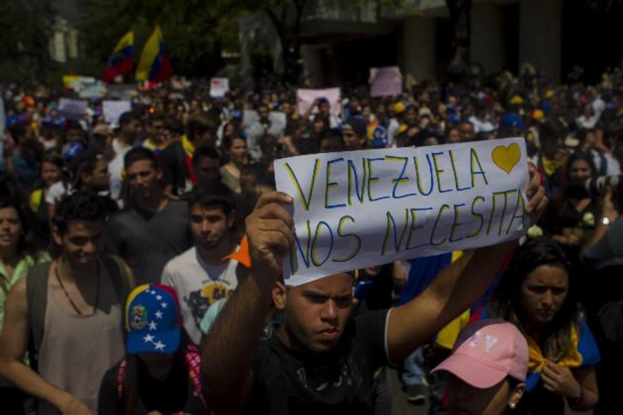 Venezuela tensa: Piden paz, justicia y libertad