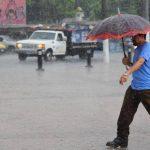 El SNET pronostica lluvia para las próximas horas