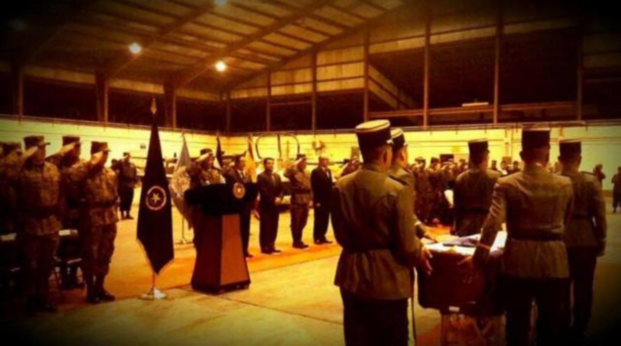 FOTO EDH Fuerza Armada Salvadoreña.