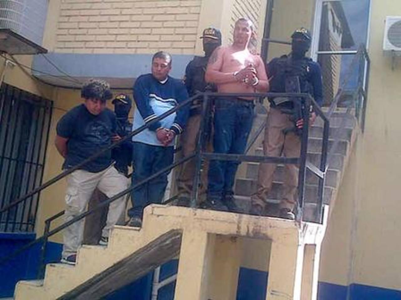 Policía de Honduras detiene a tres supuestos pandilleros salvadoreños