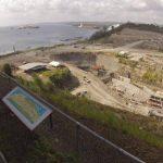 La autoridad del Canal de Panamá asegura que siguen las conversaciones con el consorcio para reanudar la obra. Foto/ Archivo