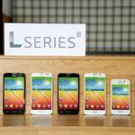 Nueva serie de smartphones de la compañía surcoreana LG que se presentarán en el Congreso Mundial Móvil