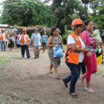 Protección Civil presentó plan de evacuación en caso de terremoto.