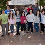 Acá el grupo de jóvenes que conforman la Red de Defensores y Defensoras de Derechos Humanos del Mupi. Foto / Cortesía