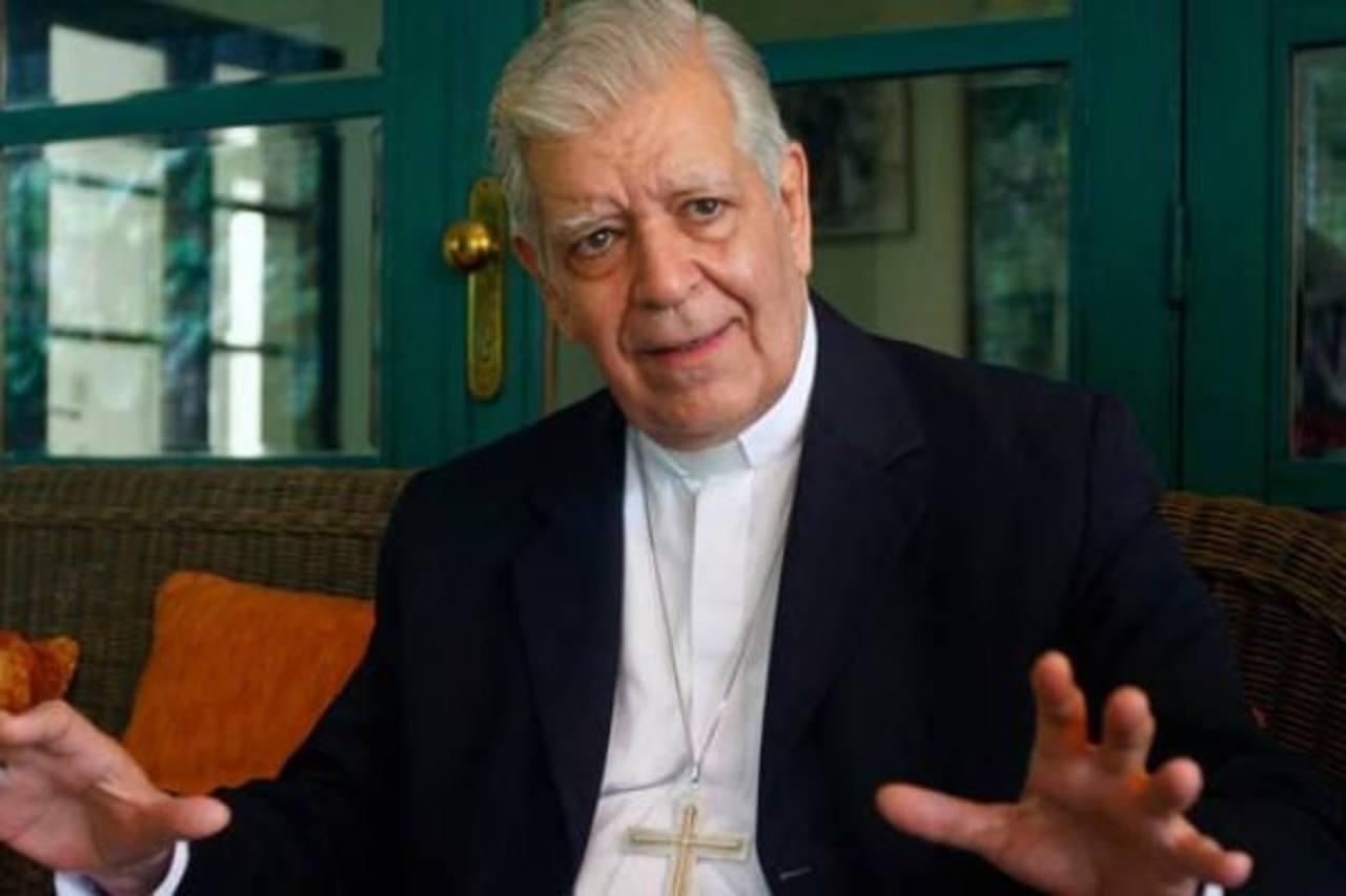 El arzobispo de Caracas, cardenal Jorge Urosa Savino, llamó al Gobierno y a la población a bajar los niveles violencia.