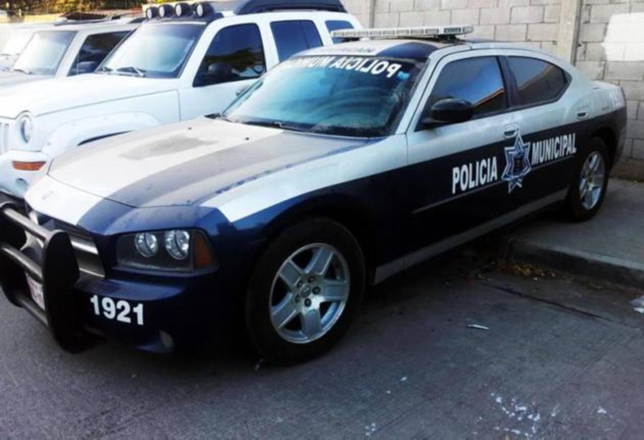"""Una patrulla de la Policía Municipal de Culiacán que era operada por cómplices de """"El Chapo"""". foto edh / internet"""
