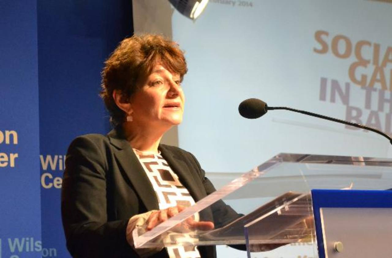 Louise J. Cord, gerente del Banco Mundial. foto edh / T. G.
