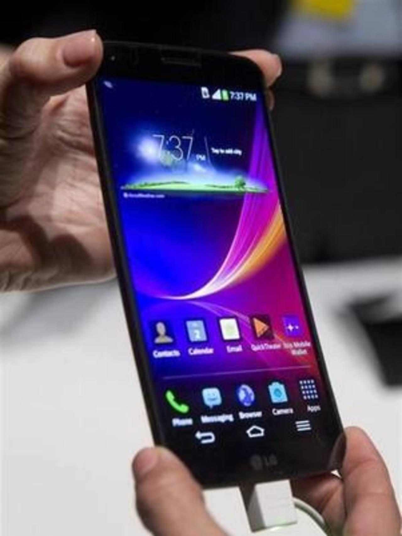 LG presenta teléfono con pantalla más grande