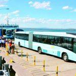 El 21 de febrero salieron del Puerto de La Unión 15 buses del Sitramss, como parte de la primer flota de 37, según tuit del VMT. Sipago no ha firmado préstamo con banco brasileño.