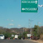 El atentado se produjo en kilómetro 190, carretera Santa Rosa de Lima-Pasaquina. Foto EDH