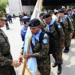 La Fuerza Armada salvadoreña tiene contingentes en el Líbano. FOTO EDH Archivo.