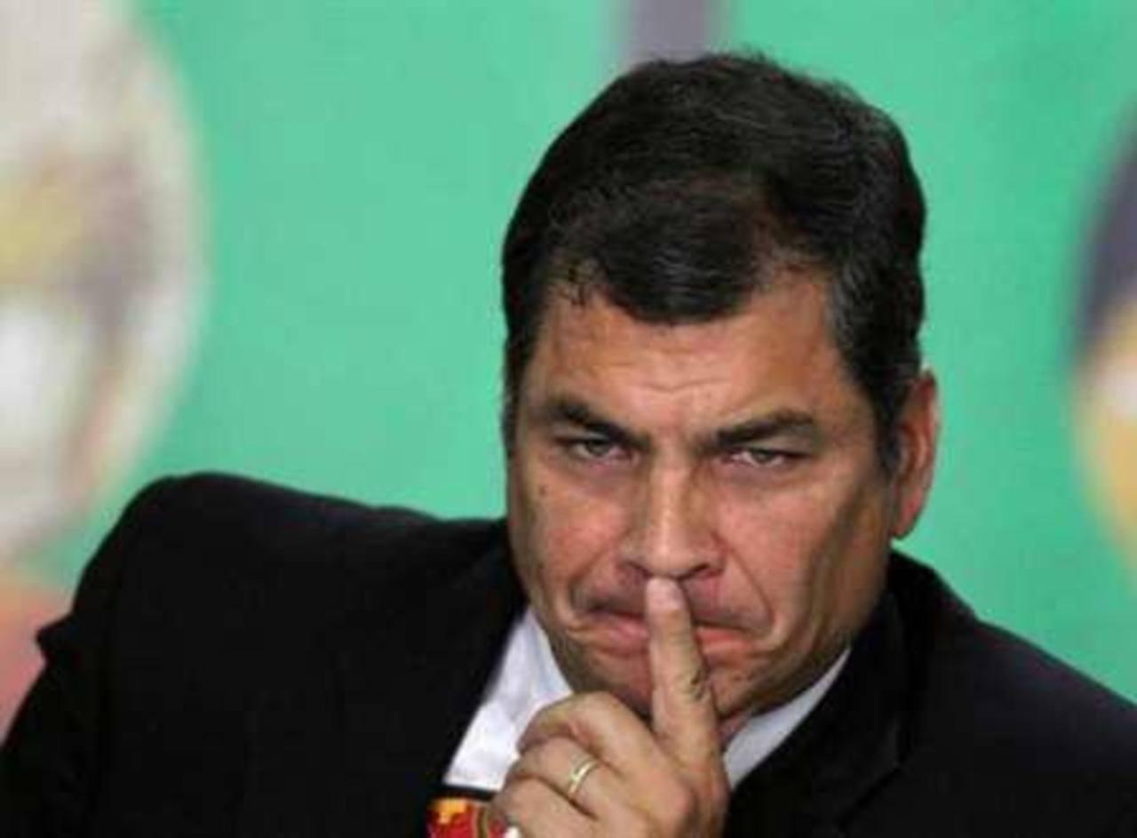 """Rafael Correa intentó en los últimos días convencer a los votantes de que en Quito, """"el corazón de la revolución"""", se jugaba el futuro de su proyecto de izquierda. Foto EDH / Internet"""