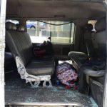 Cuatro estudiantes resultaron lesionados en un accidente en el kilómetro seis de la carretera Troncal del Norte. Foto EDH/ Douglas Urquilla