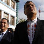 El presidente de Ecuador, Rafael Correa, lamentó la pérdida de las elecciones en la capital. Foto/ AP