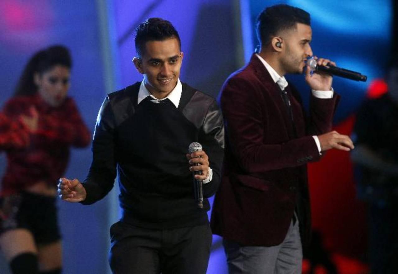 El dúo colombiano Yandar & Yostin, durante su concierto en la Quinta Vergara en la cuarta jornada del festival.
