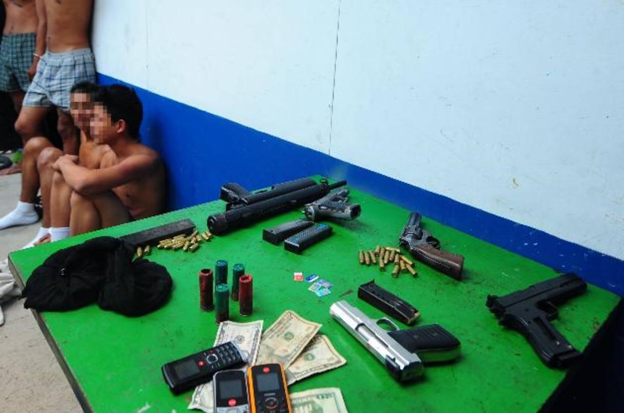Fuentes policiales afirman que pandillas aumentaron extorsiones para adquirir armas. Foro EDH / Archivo