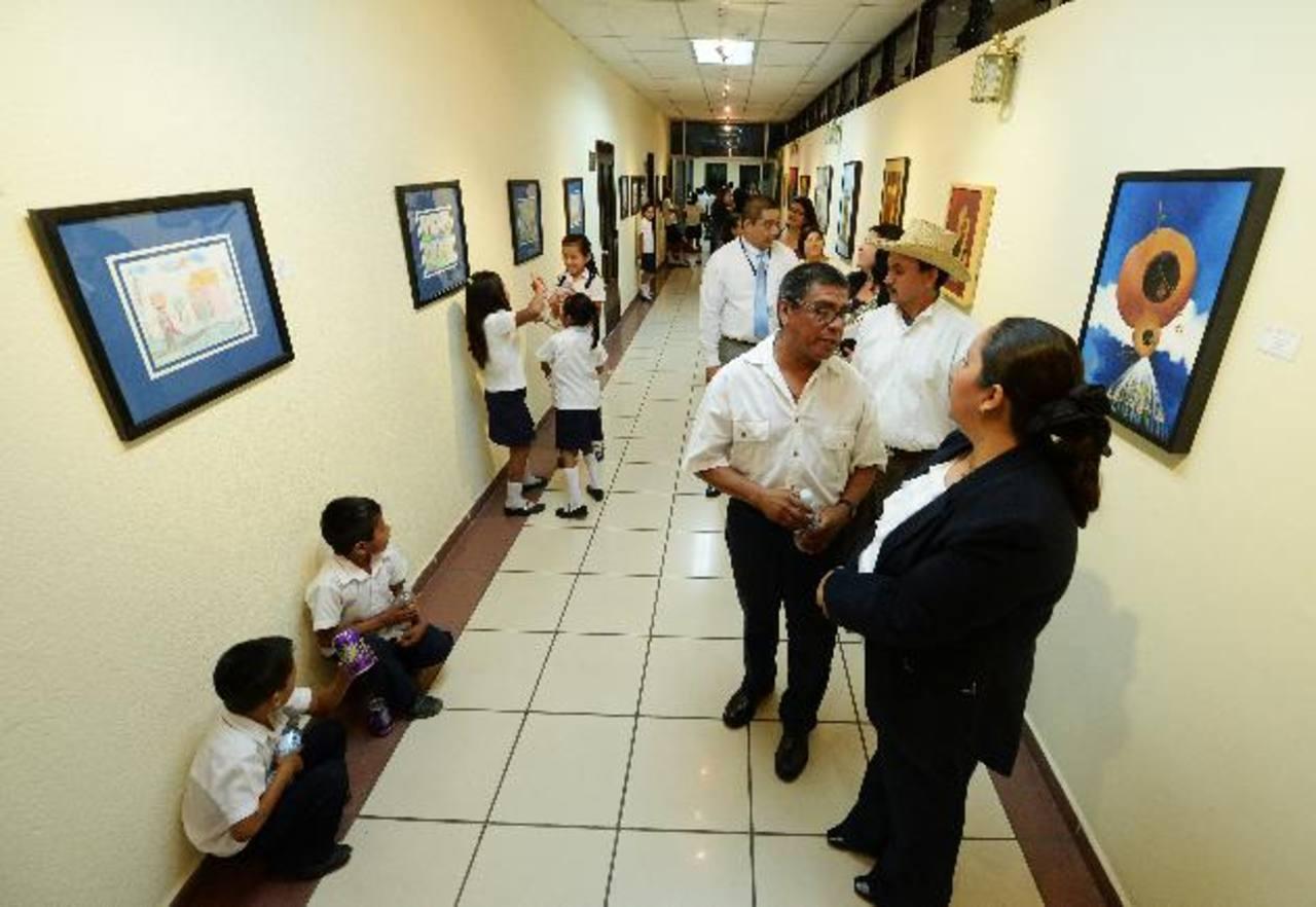 Las obras se pueden apreciar desde hoy. Entrada es gratis. Foto EDH/Marlon Hernández